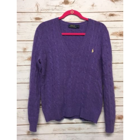 POLO Ralph Lauren Large Wool/Cashmere Knit Sweater